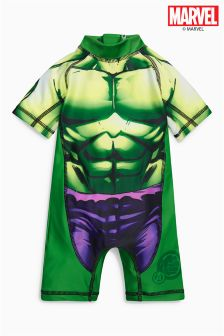 Green Hulk Sunsafe Suit (3mths-8yrs)