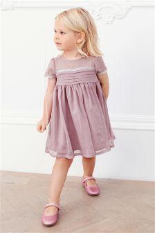 Lilac Party Dress (3mths-6yrs)
