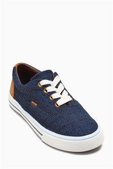 Textile Lace Up Shoes (Older Boys)