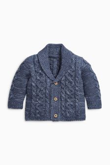 Navy Cardigan (0mths-2yrs)
