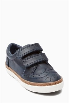 Strap Brogues (Younger Boys)