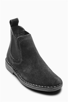 Suede Chelsea Boots (Older Boys)