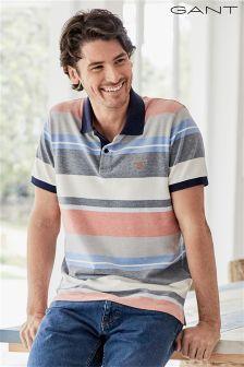 Gant Stripe Poloshirt
