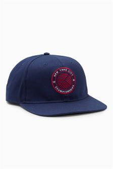 Blue Flat Peak Cap