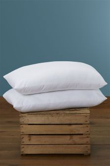 Two Pack Sleep In Comfort Pillows