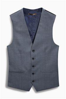 Light Blue Suit: Waistcoat