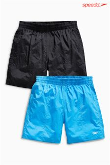 Black/Blue Speedo® Water Short Two Pack