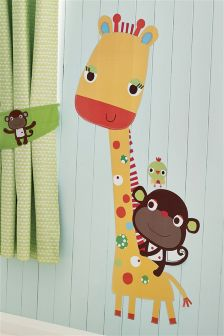 Jungle Brights Safari Friends Wall Sticker