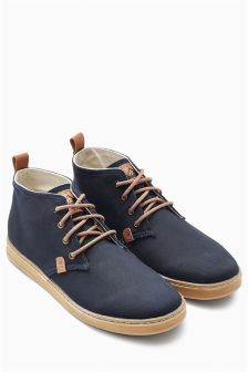 Canvas Mid Boot