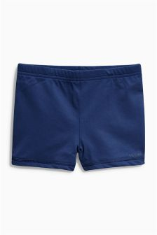 Black Stretch Swim Shorts (3-16yrs)