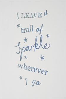 Trail Of Sparkle Wall Sticker