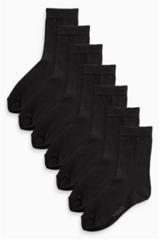 School Socks Seven Pack (Older Boys)