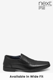 Black Panel Slip-On