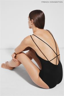 French Connection Black String Back Costume