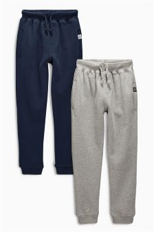 Navy/Grey Joggers Two Pack (3-16yrs)