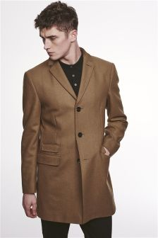 Camel Epsom Coat