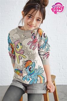 Grey My Little Pony Crew Sweat (3-16yrs)