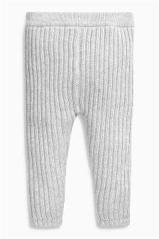 Grey Rib Joggers (0mths-2yrs)