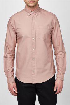 Light Pink Long Sleeve Oxford Shirt