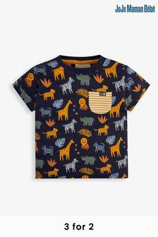 Navy Line Jacquard Smart Shirt
