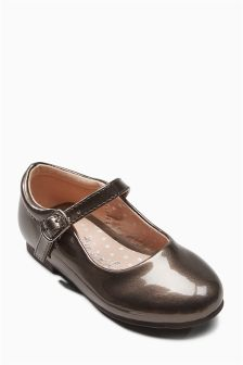 Patent Mary Janes (Younger Girls)
