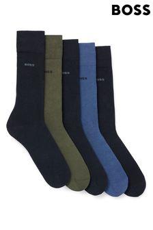 Vans Black Leather Asher Slip On