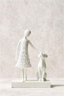 Sophia And Friend Sculpture