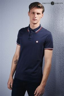 Pretty Green Tipped Polo