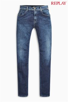 Replay® Dark Wash Kellygray Straight Leg Jean