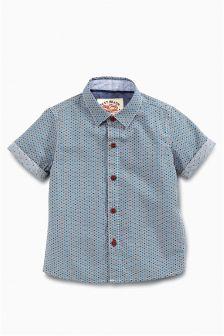 Multi Short Sleeve Geo Print Shirt (3mths-6yrs)