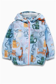 Blue Cat Cagoule (3mths-6yrs)