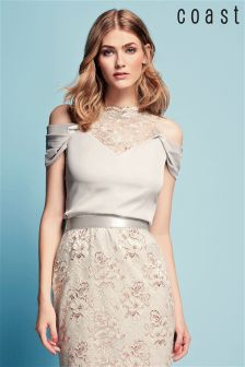 Coast Silver Halle Lace Top