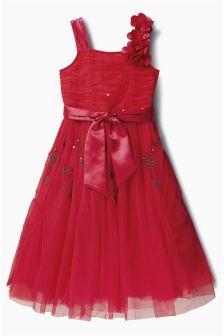 One Shoulder Dress (3-14yrs)