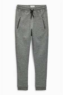 Grey Drop Crotch Skinny Joggers (3-16yrs)
