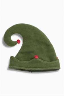 Green Elf Hat (0mths-2yrs)