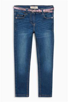 Dark Wash Skinny Jeans (3-16yrs)