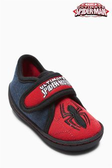 Red Spider-man® Slippers (Younger Boys)