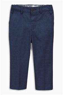 Figurbetonte, elegante Hose, Marineblau (3 Monate bis 6 Jahre)