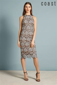 Coast Mono Ritvina Lace Shift Dress