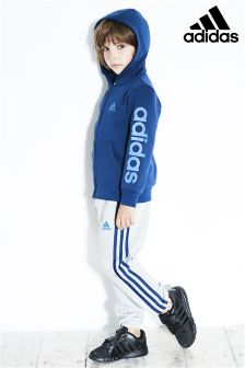 adidas Little Kids Navy/Grey Tracksuit