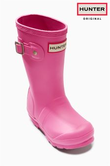 Hunter Original Fuchsia Wellingtons