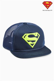Navy Superman® Cap (Older Boys)