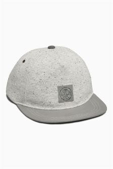 Grey Cap With Reflective Peak (Older Boys)