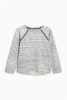 Grey Brushed Sweater (3-16yrs)