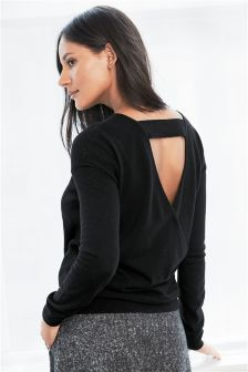 Deluxe Wrap Back Top