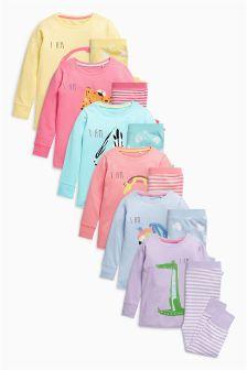 Multi I Am Printed Pyjamas (12mths-6yrs)