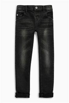 Black Stretch Jeans (3mths-6yrs)