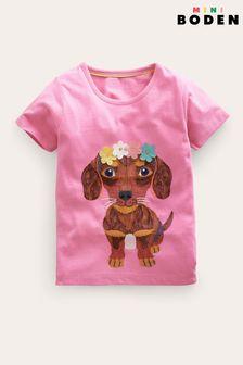 Purple Print Prom Dress (3-14yrs)