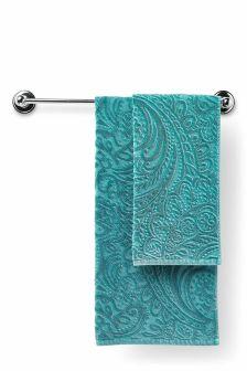 Paisley Wash Towel