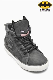 Charcoal Batman® Boots (Younger Boys)